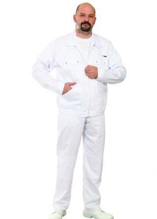 Fehér ruházat-élelmiszeripari ruházat